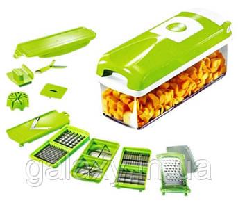 Мультислайсер Nicer Dicer plus измельчитель для овощей найсер дайсер овощерезка