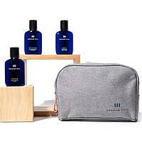 Дорожній набір для волосся Graham Hill Travel Set (шампунь 100мл + гель 100мл + бальзам 100мл)