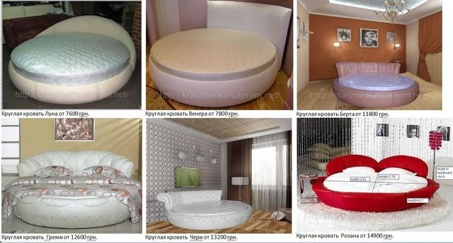 Круглая кровать. Муки выбора.