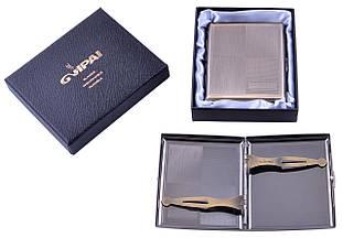 Портсигар подарунок для сигарет компактний в подарунковій упаковці GVIPAI (20 шт) №XT-4982-1