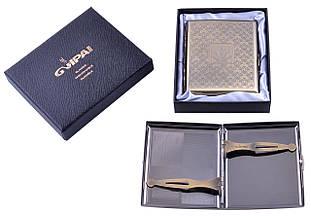 Портсигар подарунок для сигарет компактний в подарунковій упаковці GVIPAI (20 шт) №XT-4982-4