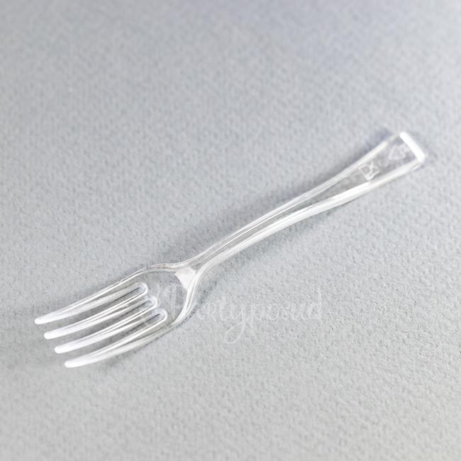 Вилочка десертная с плоской ручкой
