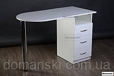 Маникюрный стол с ящиками, фото 3