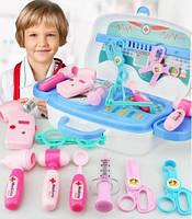 Игровой набор доктора Happy doctor | Детский набор доктора в чемоданчике | Детский чемоданчик Happy Doctor 13