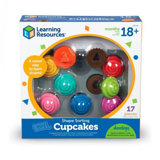 Обучающий игровой набор-сортер Learning Resources - Капкейки LER7347