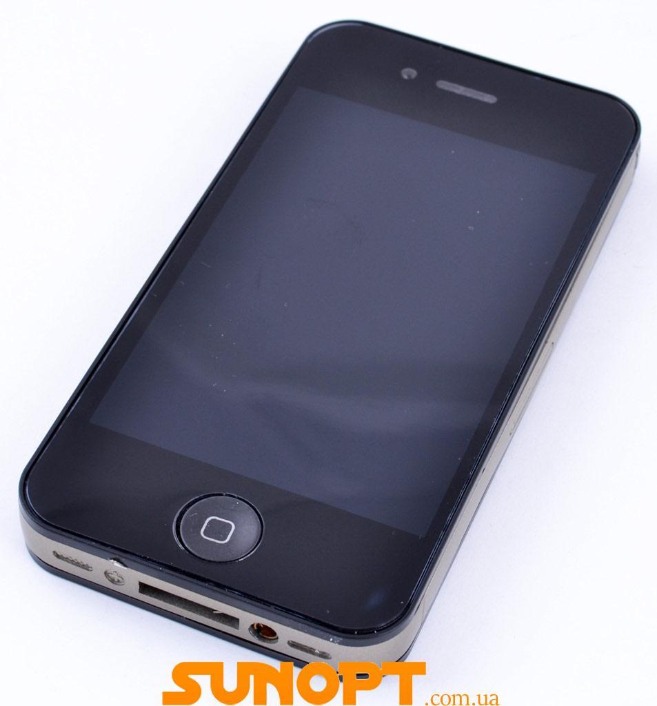 Запальничка подарункова Apple iPhone (Звичайне полум'я) №4175 Black