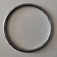 Кольцо литое сварное 80 мм черный никель