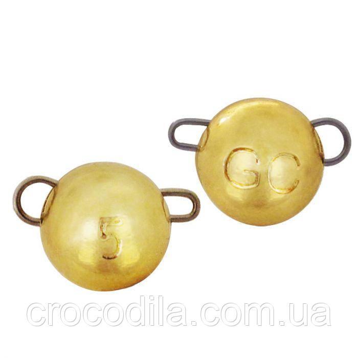 Груз вольфрам разборной Golden Catch Gold 5 штук 1 грамм