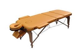 Массажный стол ZENET ZET-1047/L yellow  3-х секционная