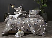 Полуторный комплект постельного белья 150х220 ЭКОНОМ (13343) Бязь хлопок_полиэстер
