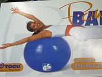 Фитбол  TOGU диаметр 55см Фитнес мяч  для фитнеса MyBall soft