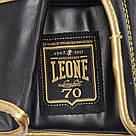 Боксерские перчатки Leone Italy Black 10 ун., фото 5