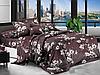 Полуторный комплект постельного белья 150х220 ЭКОНОМ (13877) Бязь хлопок_полиэстер