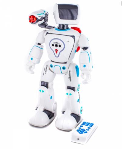 Робот интерактивный  гидроэлектрический на русском