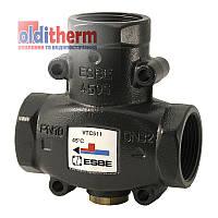 """Термический трехходовой клапан ESBE VTC511 Rp 1"""" kvs9, 55 С, Швеция"""