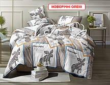 Двоспальний комплект постільної білизни - Новорічні олені
