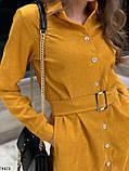Платье горчица, фото 2