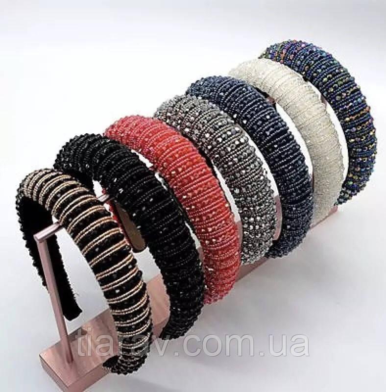 Обруч для волос в камнях в стиле Zara, модный обруч для волос