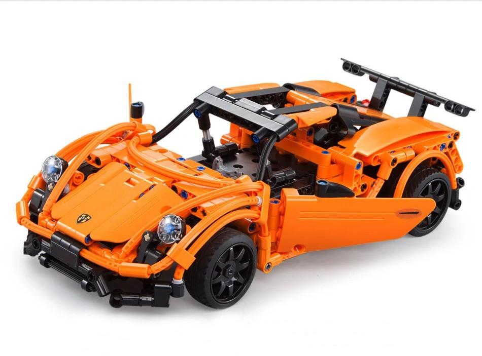 Конструктор типа Лего машина на радио упралении C51051W - фото 2