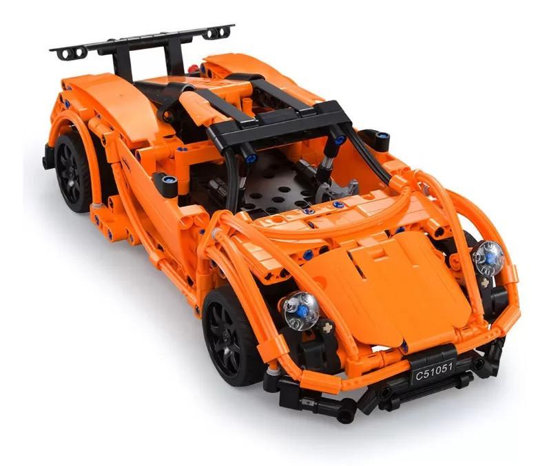 Конструктор типа Лего машина на радио упралении C51051W - фото 4
