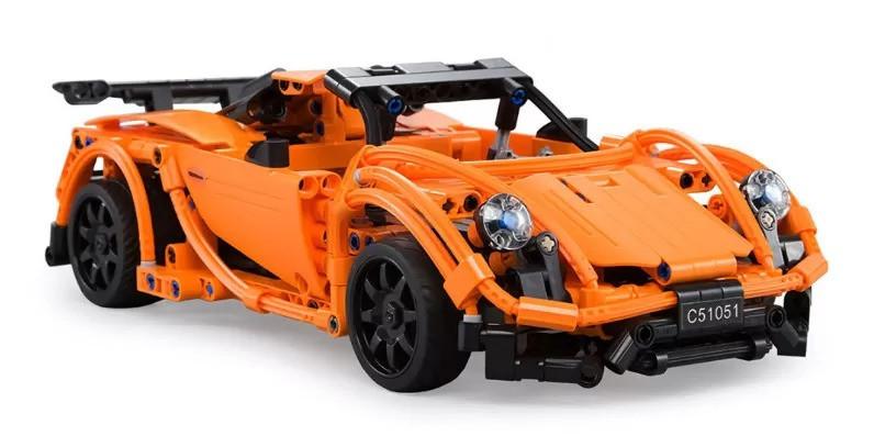 Конструктор типа Лего машина на радио упралении C51051W - фото 5