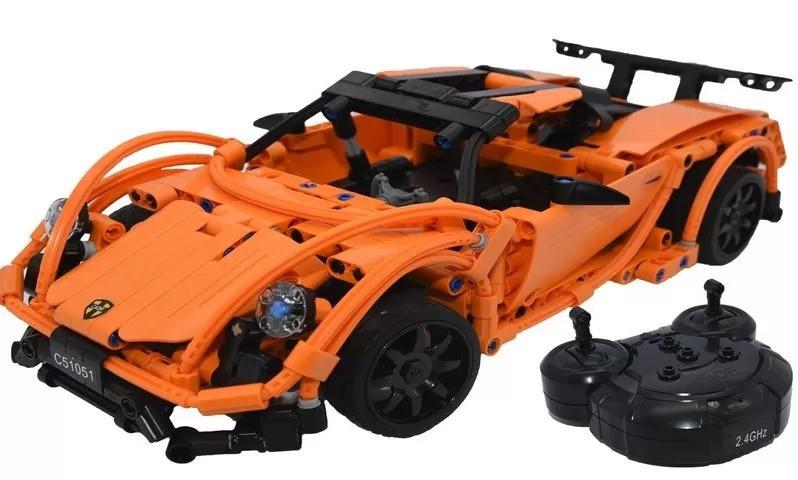 Конструктор типа Лего машина на радио упралении C51051W - фото 6