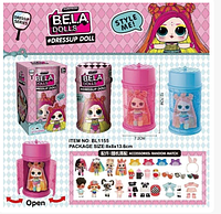 Кукла Bella Dolls капсула в виде лака 16 см