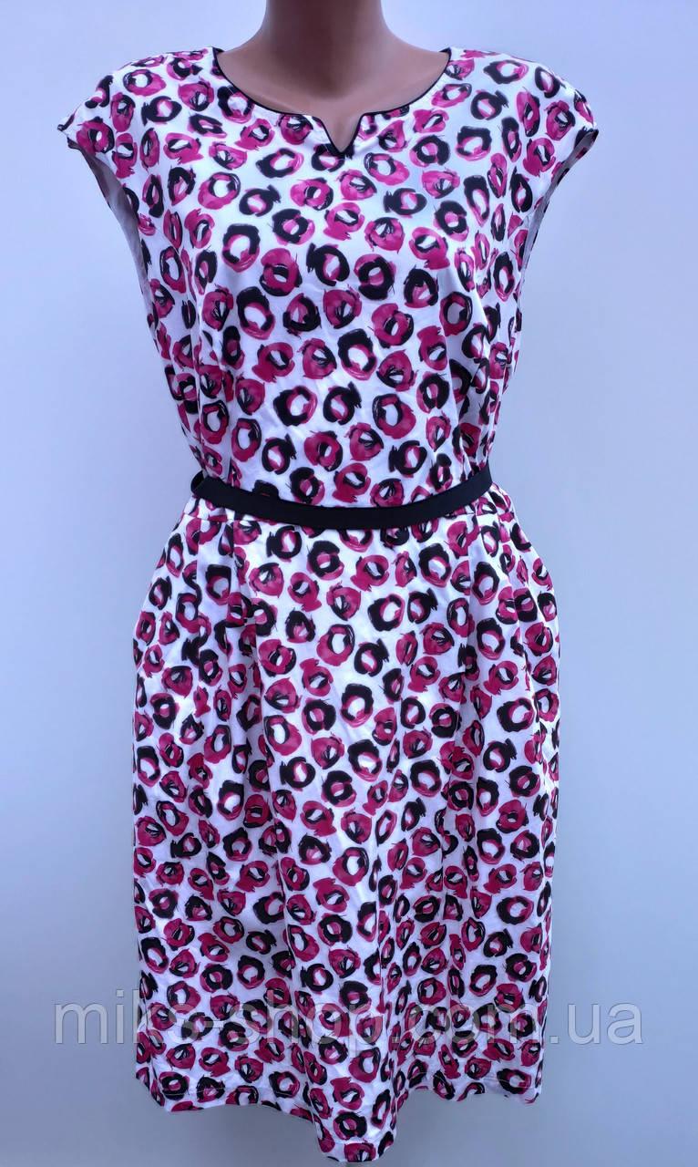 Розкішне плаття з кишенями Розмір наш 56 ( К-189)