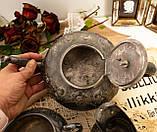 Антикварный посеребренный чайный сервиз, серебрение, Англия, Sheffield H. Land, фото 7