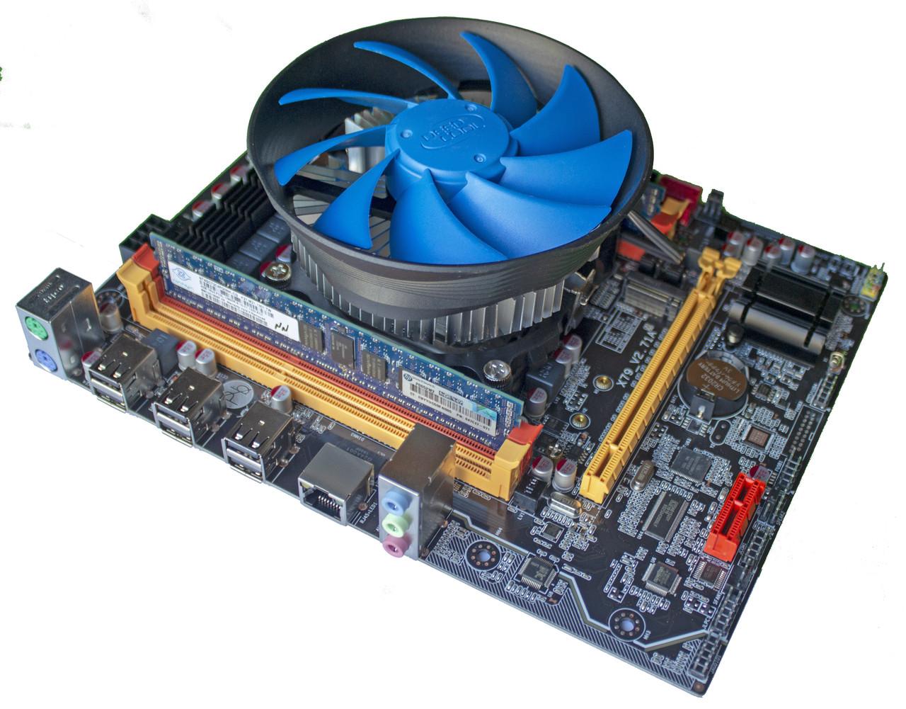 Комплект X79-2.72 + Xeon E5-2643 + 16 GB RAM + Кулер, LGA 2011