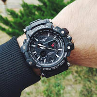 Часы Касио Джи-шок G-Sho*k GPW-1000 Спортивные, Мужские, чоловічий годинник, чорні