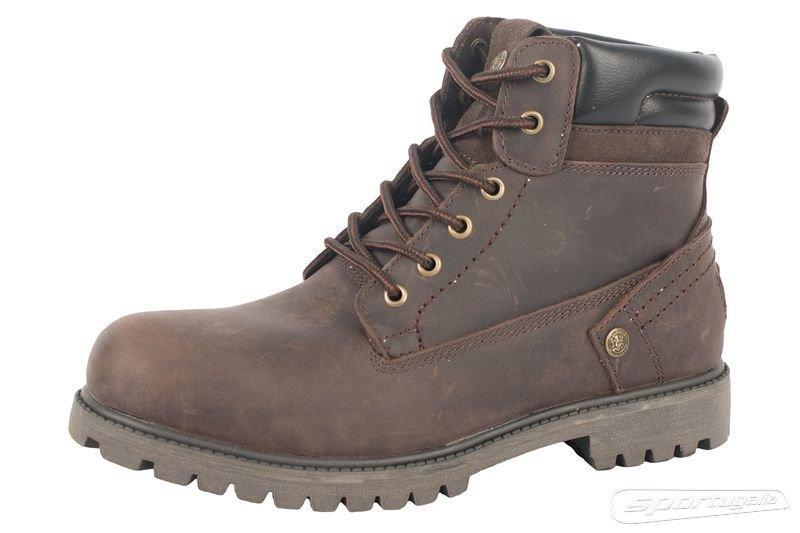 Ботинки повседневные мужские Alpine Crown ACFW-160340 Темно-коричневый