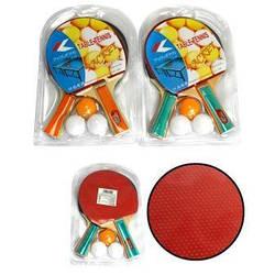 "Теніс наст.BT-PPS-0009 ракетки (1,1см,кол.ручка)+3м""яча пласт./50/"