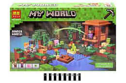 """Конструктор """"Minecraft"""" 508дет. в кор. 46*30,5*7 см. /24/"""