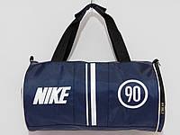 Сумка текстильная вместительная NIKE серо-синий, фото 1