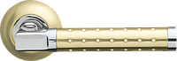 Дверная ручка  Armadillo Eridan LD37 матовое золото/хром