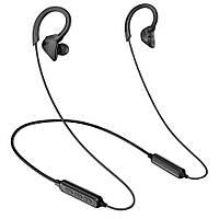 [Безкоштовна сумка для зберігання] ПТМ Х1 висить шийним навушник Bluetooth бездротова гарнітура бас навушники