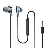 Інструменти AIRAUX АА-НЕ2 подвійний динамічний драйвери магнітні навушники 3.5 мм провідний контроль навушники