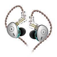 KBEAR KB06 2Б+1DD одиниць металу спорту HiFi у вухо навушники 3,5 мм супер бас музика навушники з 2 дюйма