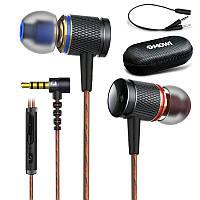 Дротовий контроль навушники метал стерео навушники спорт музика в-вухо навушники Plextone DX2 3,5 мм з