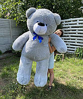 Плюшевый Мишка 2 метра серый, Большой Плюшевый Медведь, Большая Мягкая игрушка Плюшевый Мишка 200 см