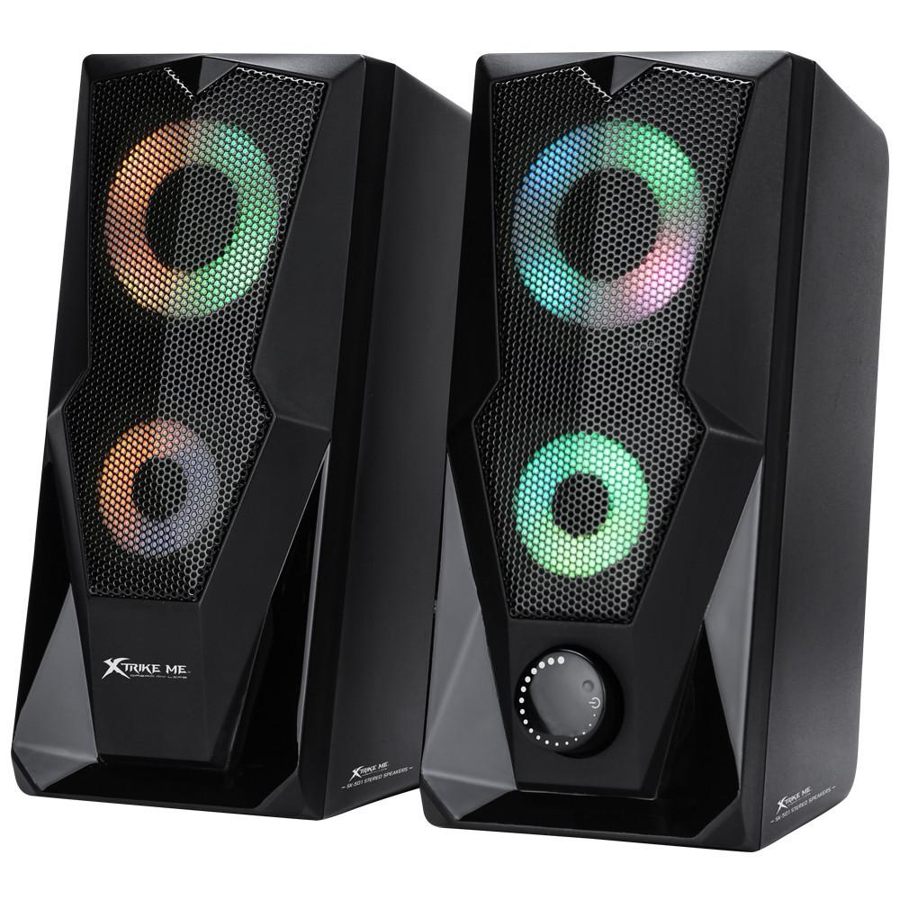 Колонки комп'ютерні XTRIKE ME RGB Backlight SK-501, чорні