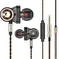 Навушники CK10 шість динамічний драйвер блок важкий бас музика навушники вбудованим пультом управління з