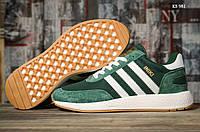 Кроссовки Adidas Iniki Runner (зеленые), фото 1