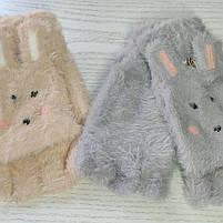 Перчатки шерстянные без пальцев для девочки Возраст 7-12 лет, фото 3