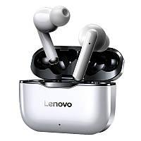 Новий Lenovo ЛП1 СПЦ IPX4 водонепроникний Bluetooth навушники спорт гарнітура з шумозаглушенням HiFi бас