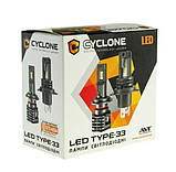 Лампы LED Cyclone H1 type-33 5000k 4600Lm, фото 3