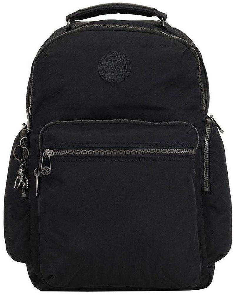 Городской рюкзак Kipling Basic Elevated 25л черный