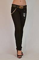 Брюки женские A.M.N. замшевые (спандекс) арт. 2097 , фото 1