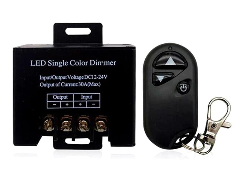 Диммер 30А 360вт + радиопульт для светодиодной ленты